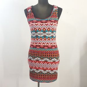 Ambiance Apparel Mini Bodycon Tank Dress